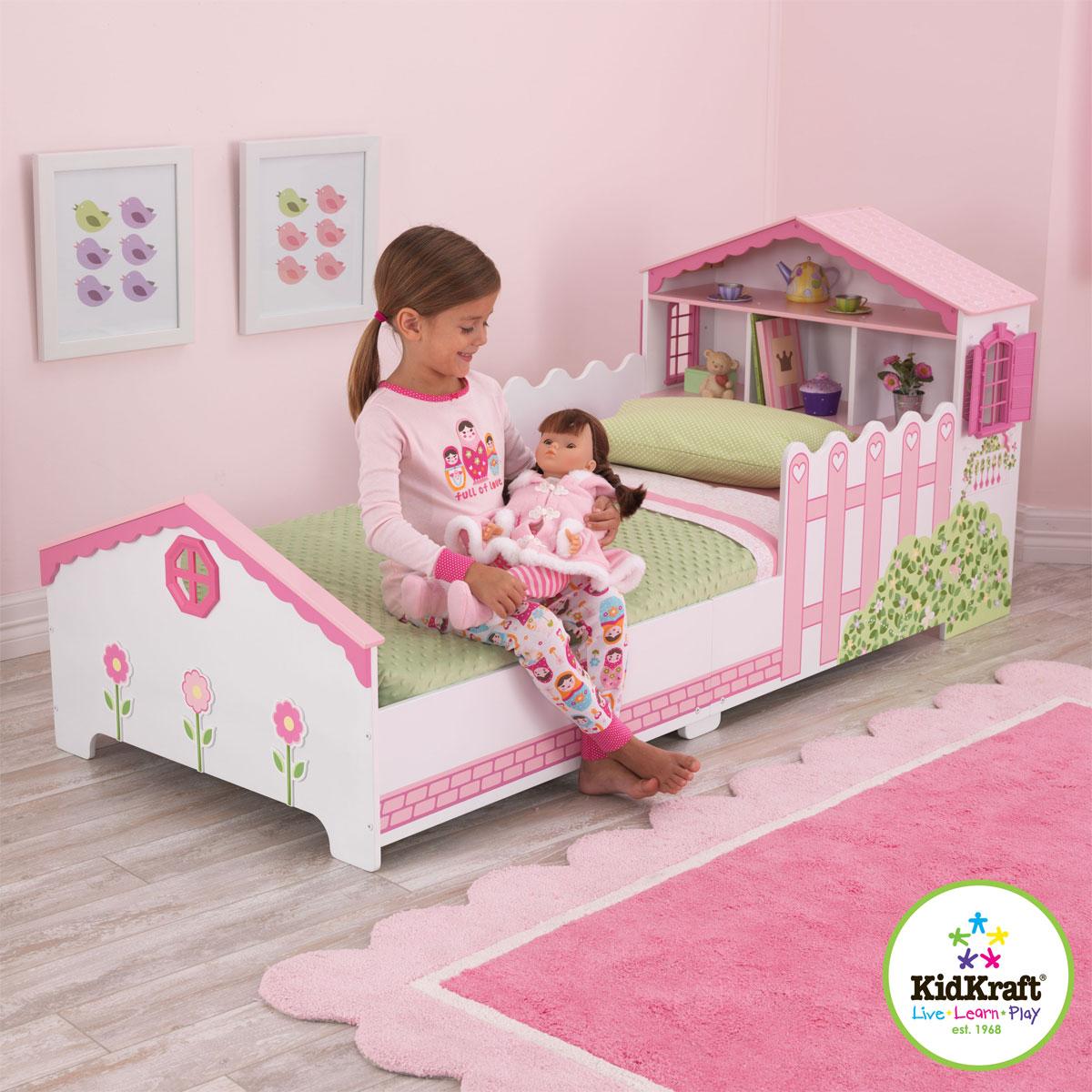 Kidkraft Dollhouse Toddler Bed 76255