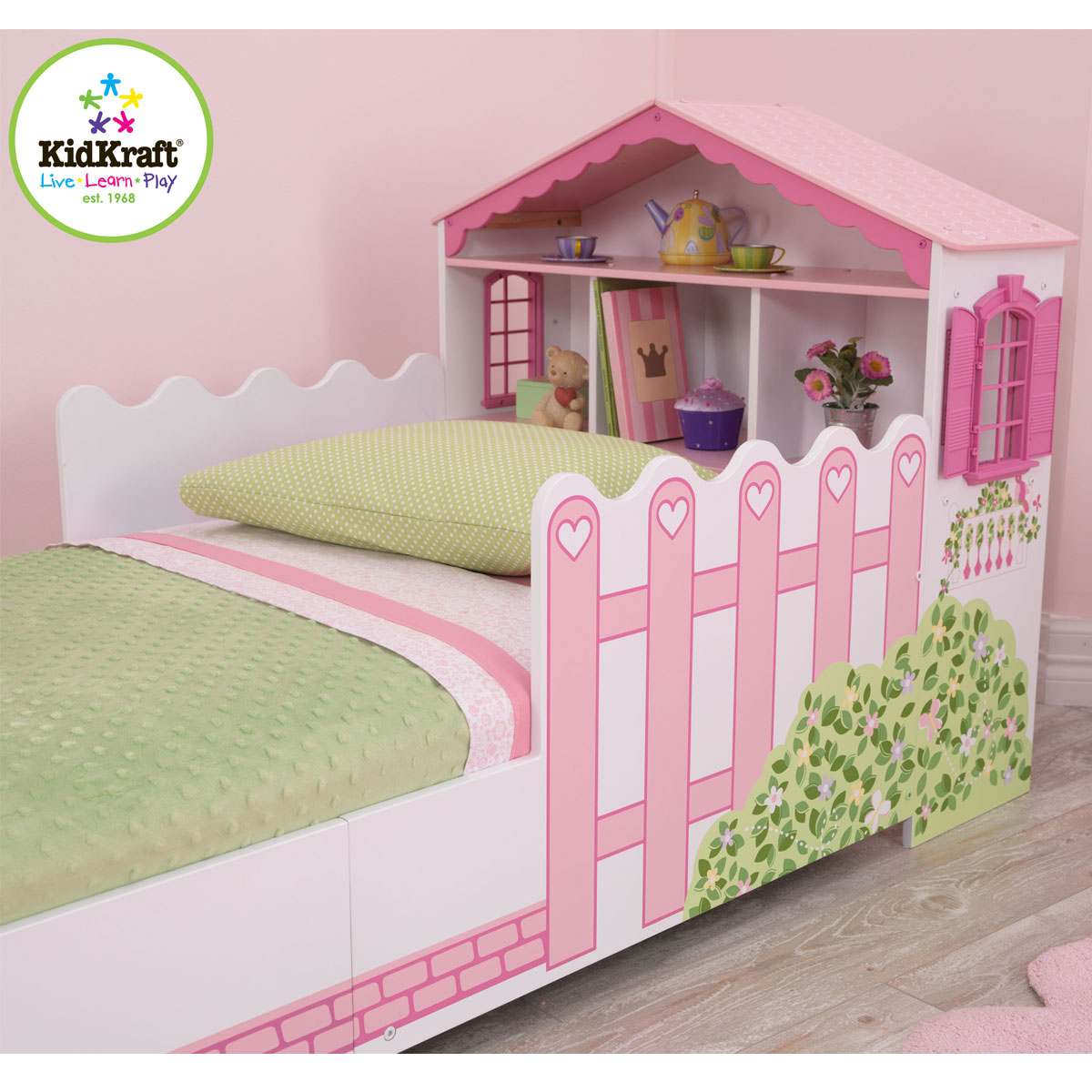 Kidkraft Toddler Bed Kidkraft Dollhouse Toddler Bed 76255