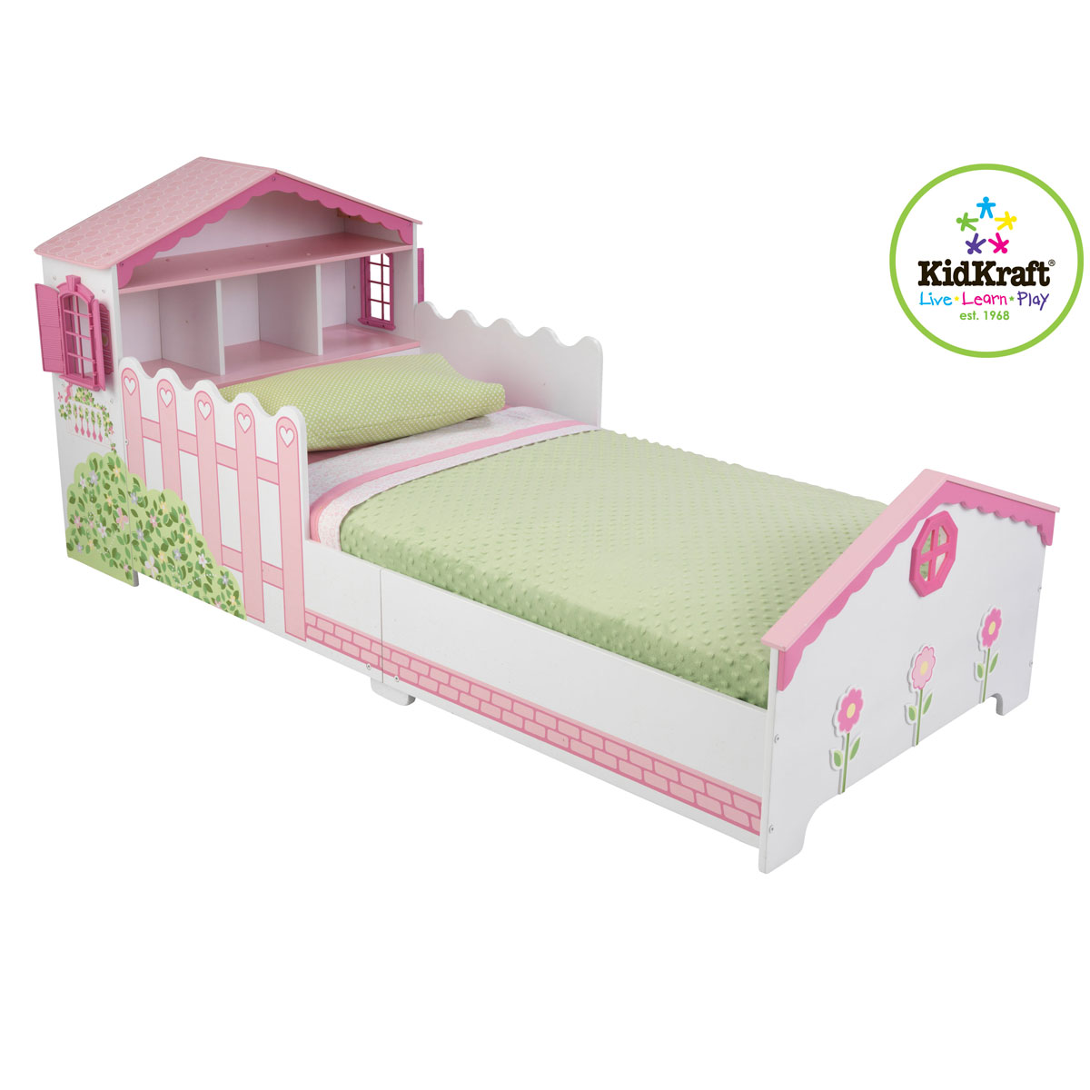 KidKraft Dollhouse Toddler Bed 76255