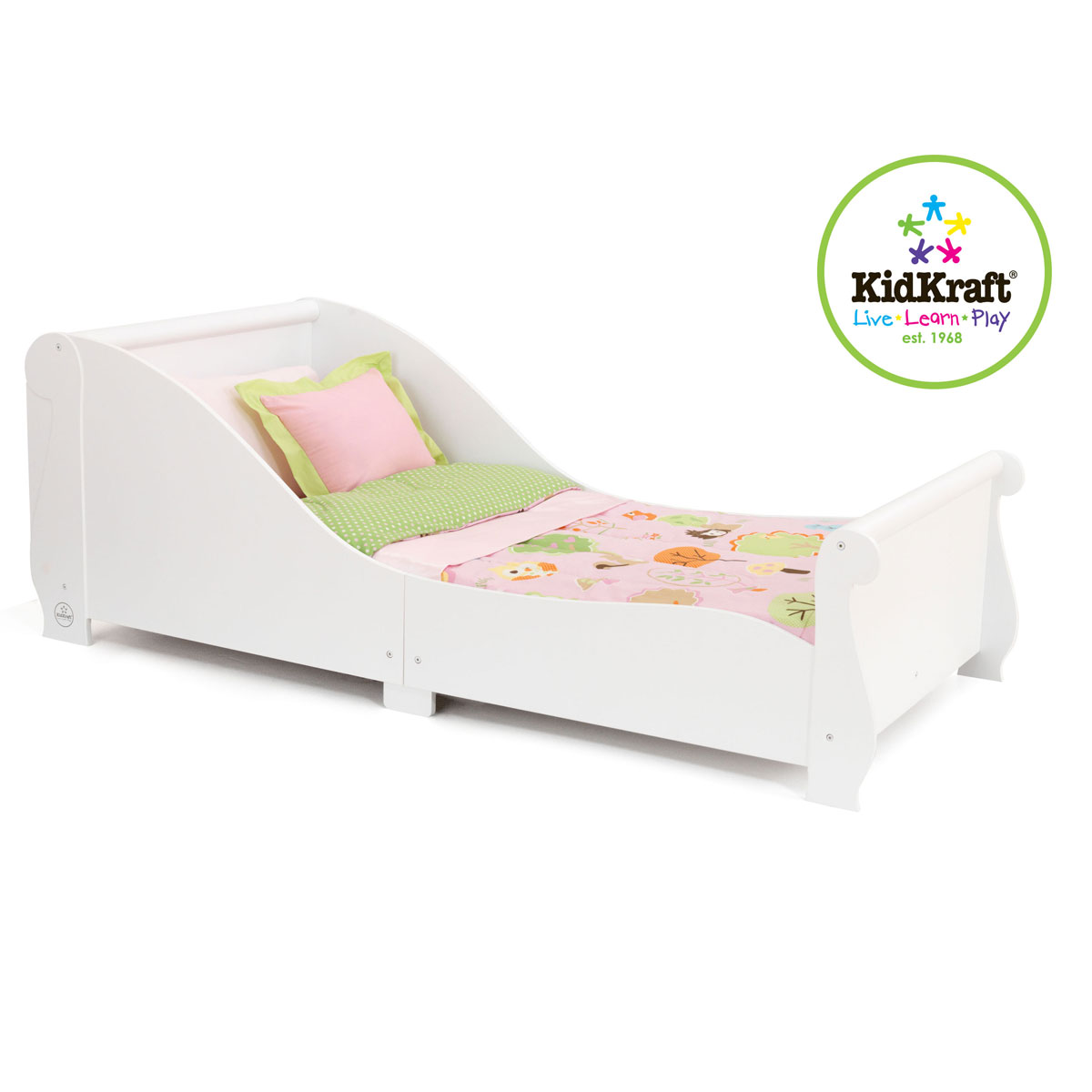 Kidkraft Sleigh Toddler Bed White