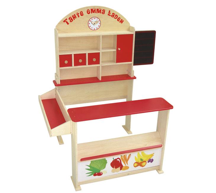 kaufladen holz tante emma von roba kaufl den zum kleine. Black Bedroom Furniture Sets. Home Design Ideas