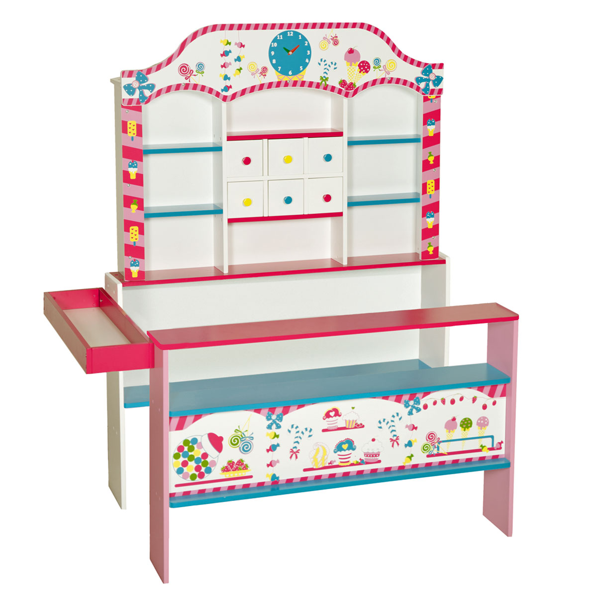 roba 92808 kaufladen candyshop mit zubeh r pirum. Black Bedroom Furniture Sets. Home Design Ideas