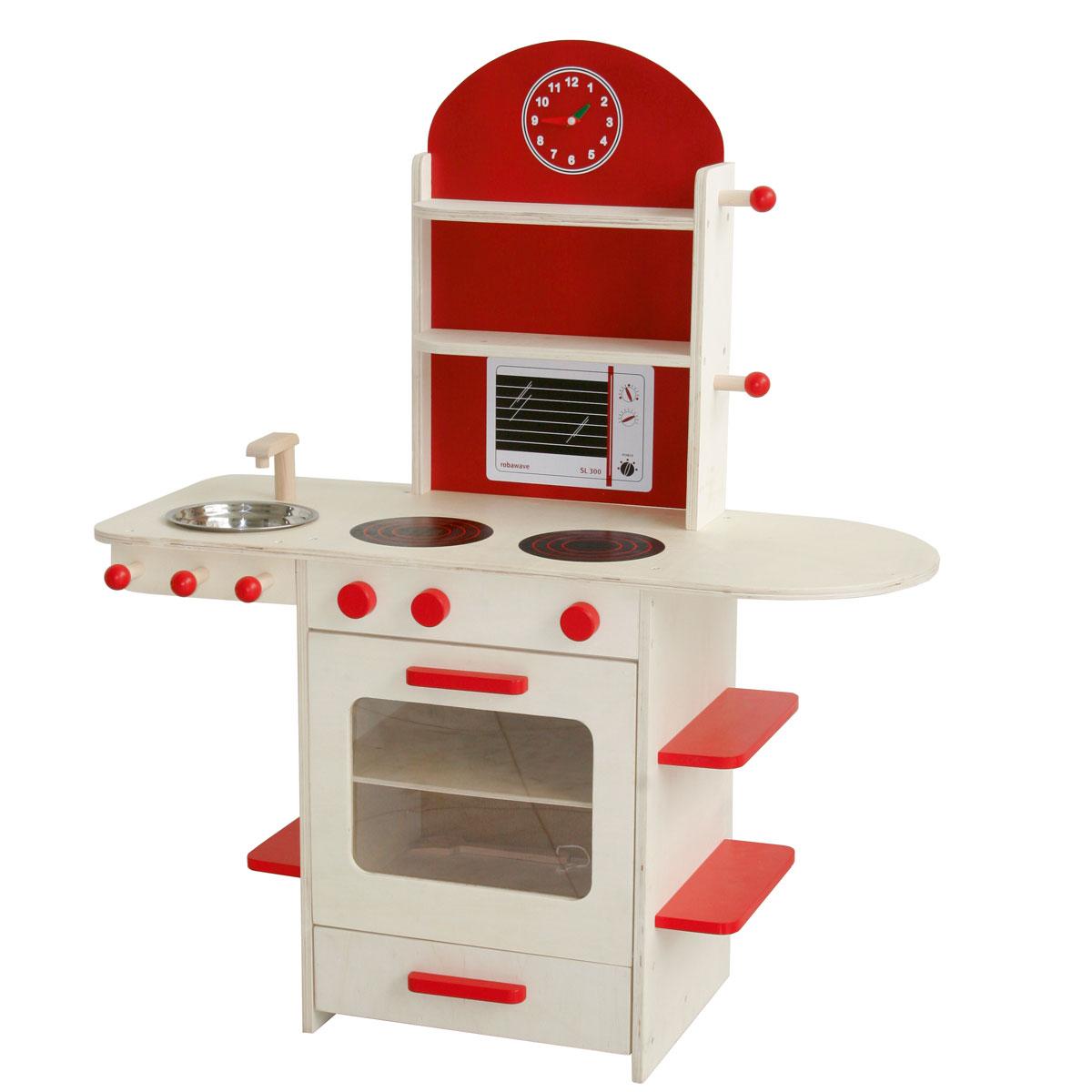 roba kinderküche aus holz 98207 | pirum-holzspielzeuge.de - Roba Küche