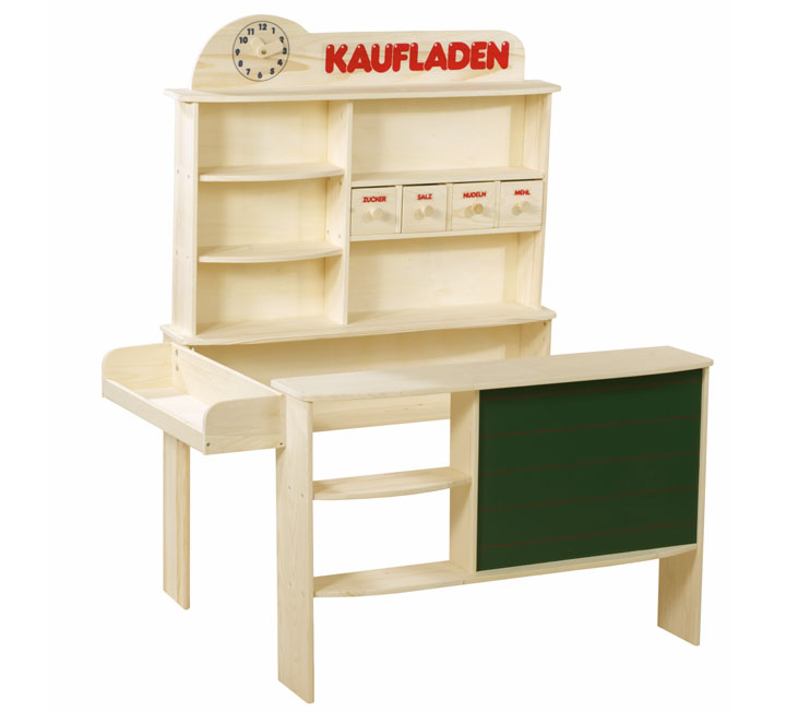 roba kaufladen 9892 f r kinder kinderkaufladen kaufen mit tafel. Black Bedroom Furniture Sets. Home Design Ideas