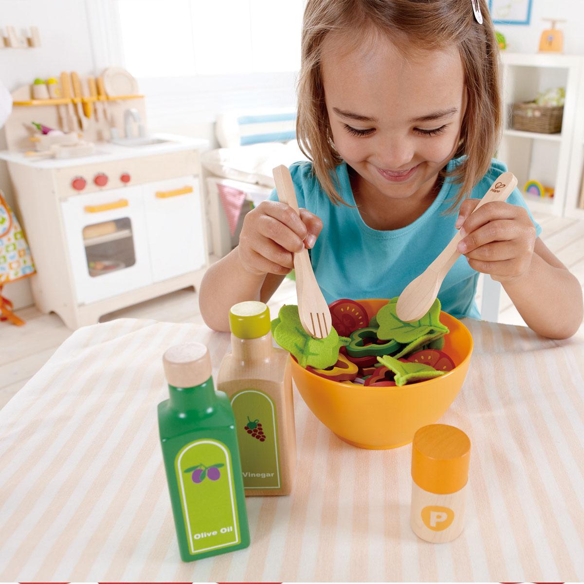 hape gesunder gourmet salat e3116 f r kinderk che und kaufladen. Black Bedroom Furniture Sets. Home Design Ideas