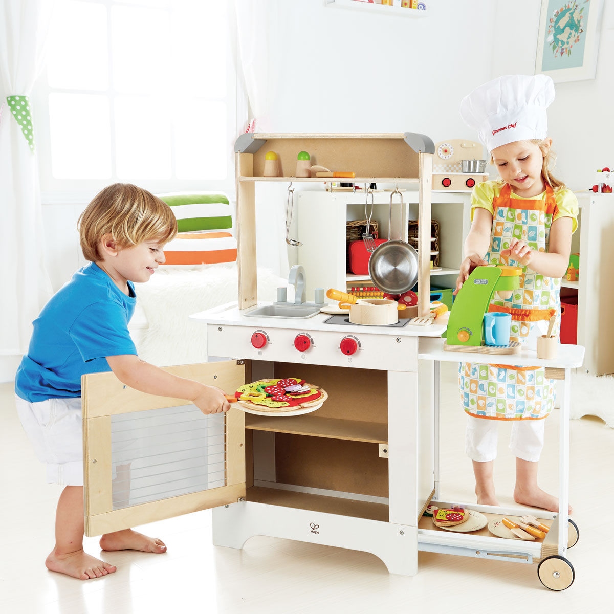 Wood Kitchen Table With Toddlers