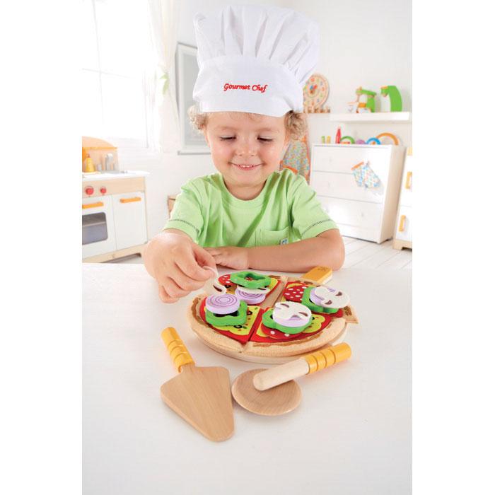 Hape Pizza Fatta In Casa E3129 Pirum Giocattoli Di Legno