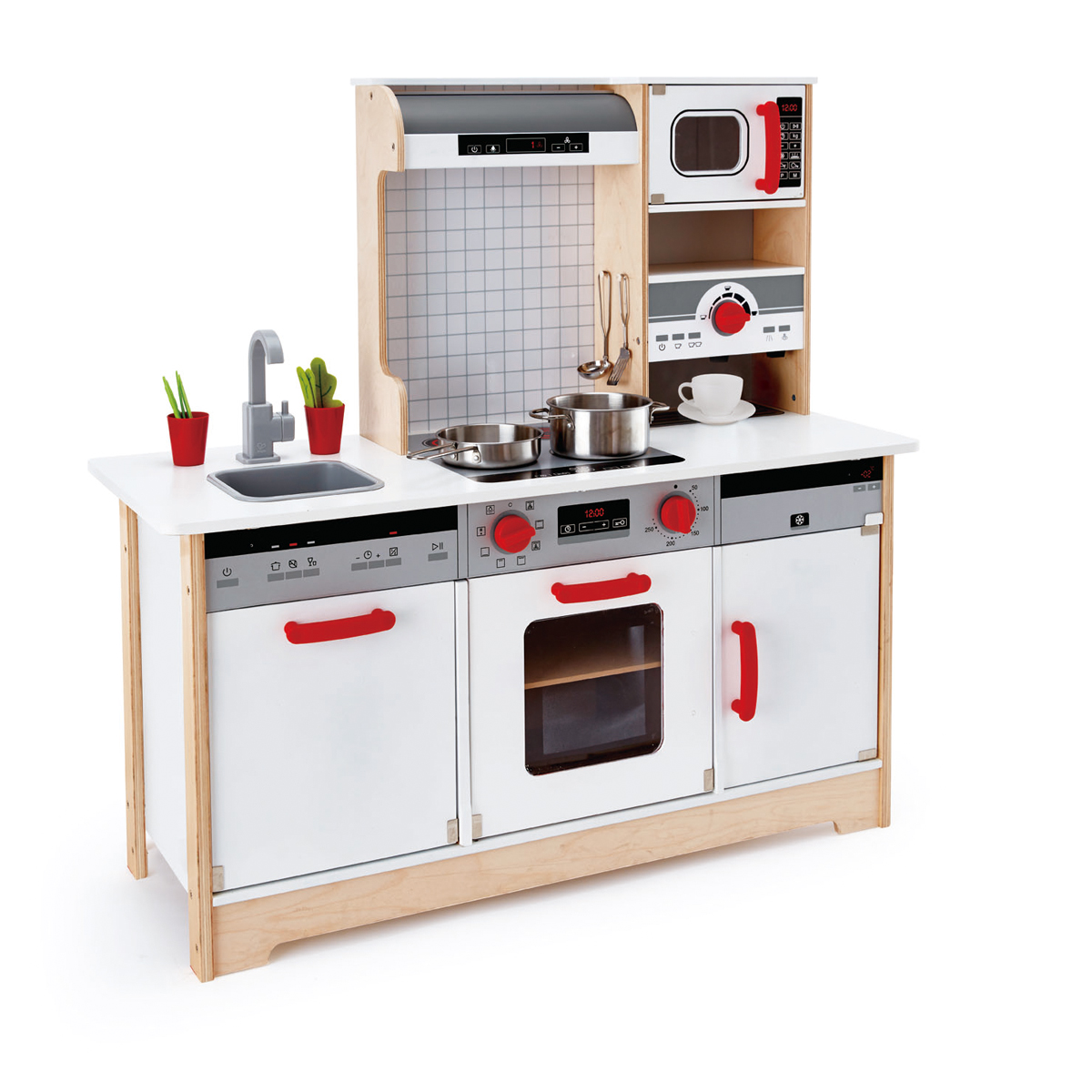 Hape all in 1 kitchen e3145 pirum for Kitchen set nz