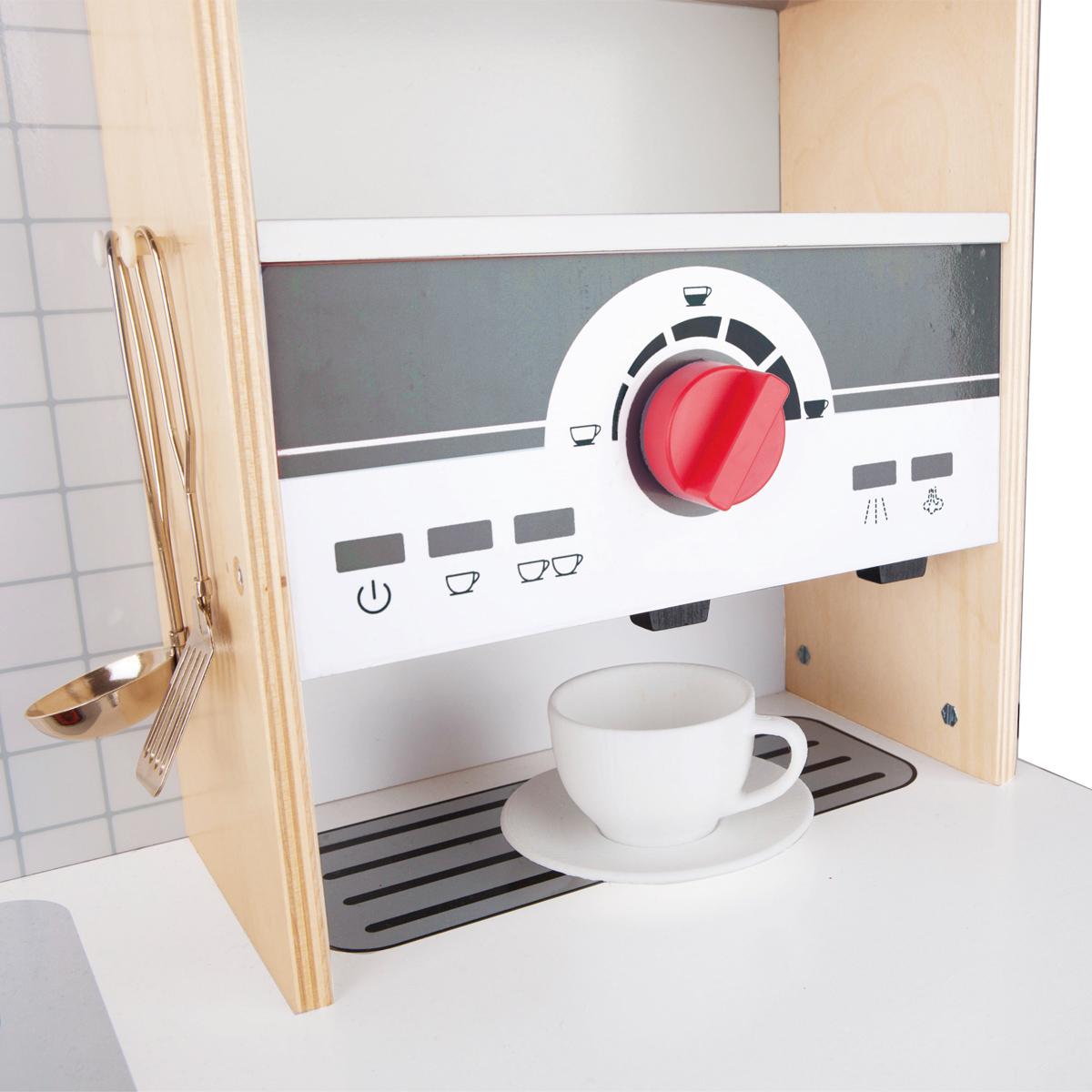 hape multifunktionale spielk che aus holz e3145 pirum. Black Bedroom Furniture Sets. Home Design Ideas