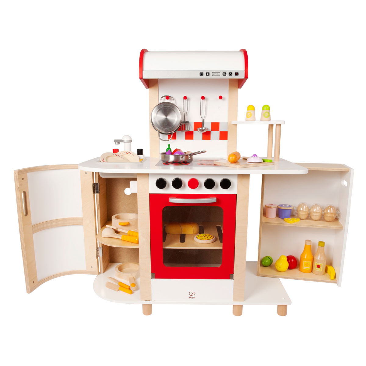Hape multi function kitchen e8018 for Kitchen kitchen