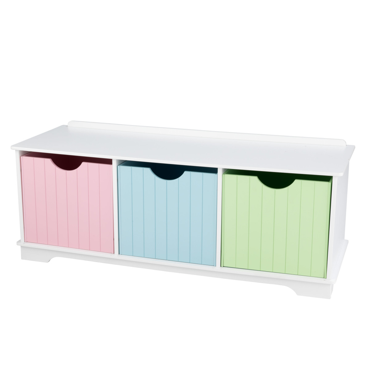 Fine Kidkraft Nantucket Storage Bench Pastel 14565 Ncnpc Chair Design For Home Ncnpcorg