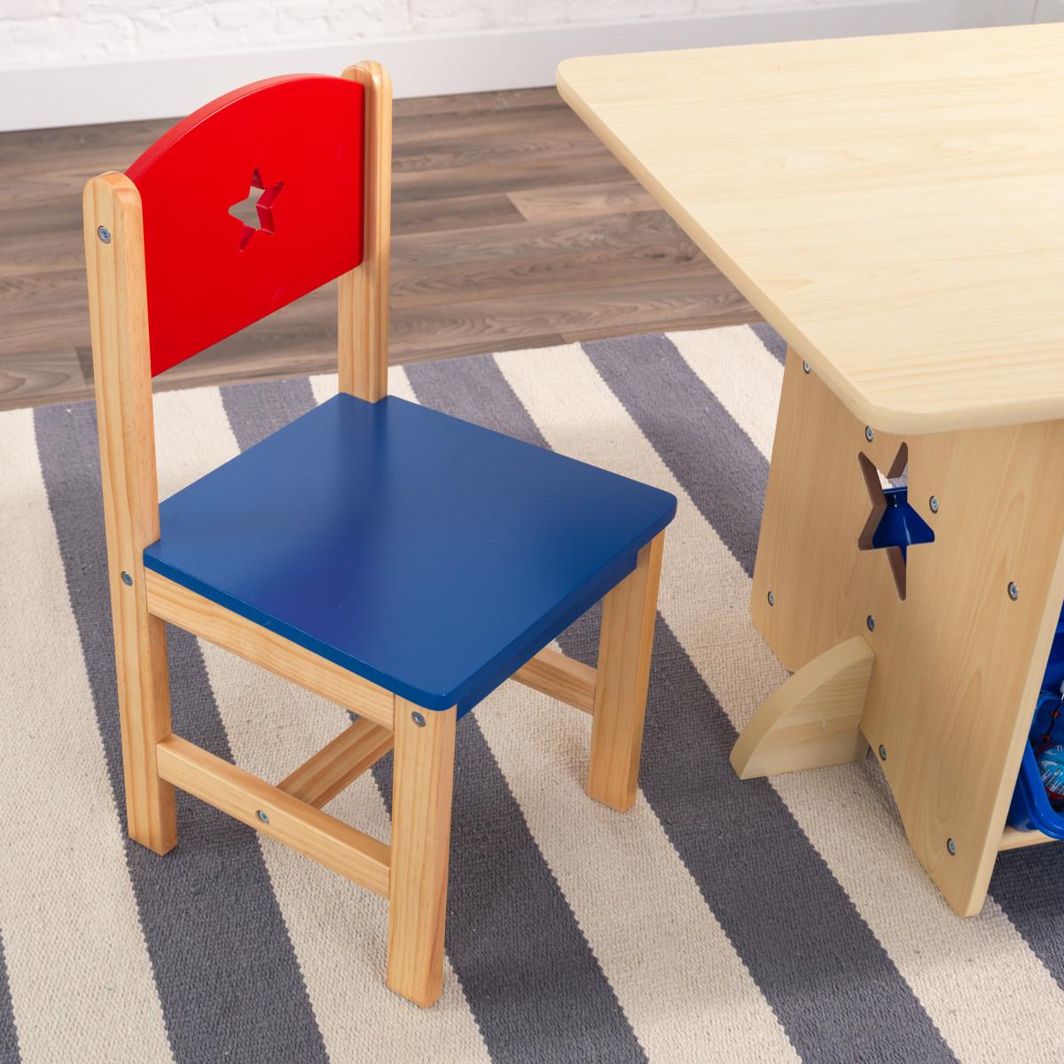 KidKraft Ensemble Table Et Chaises Avec Motif Toile 26912