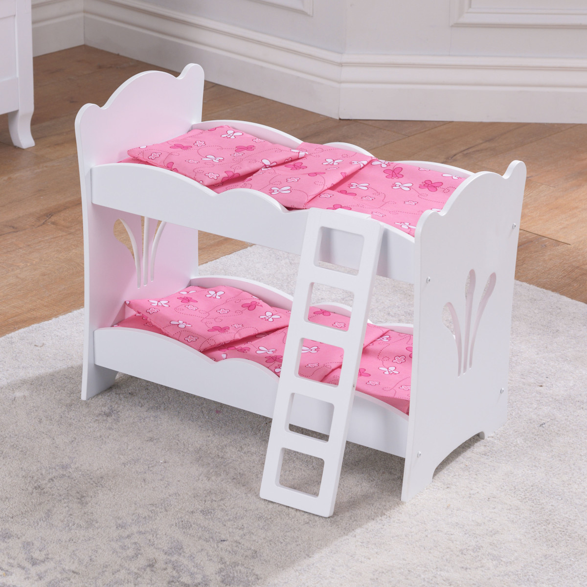Picture of: Kidkraft Lil Doll Bunk Bed 60130