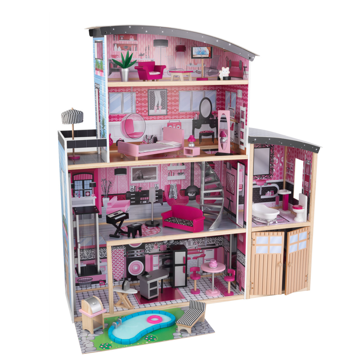 Kidkraft Sparkle Mansion Dollhouse 65826