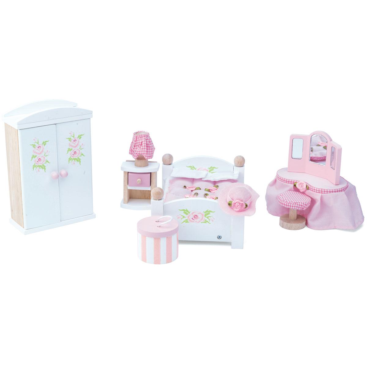 Schlafzimmer Le le daisylane schlafzimmer me057 puppenhausmöbel aus holz