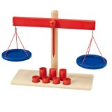 Selecta Waage mit Gewichten