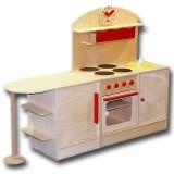 Plaho Kinderküche Bilbao mit Küchenbar