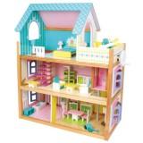 Puppenhaus Residenz mit Zubehör