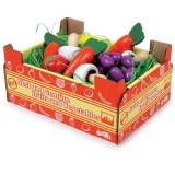 Stiege mit Gemüse