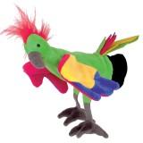 Beleduc handpop papegaai