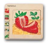 Beleduc Lagenpuzzle Erdbeere