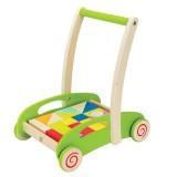 Hape Lauflernwagen/ Bausteinwagen aus Holz