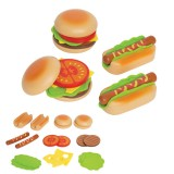 Hape Hamburger i Hot Dog - E3112