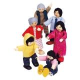 Hape Rodzina azjatycka - E3502