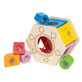 Hape E0407 Shake and Match Shape Sorter