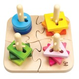 Hape E0411 Puzzle creativo