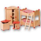 Goki Puppenhausmöbel Kinderzimmer