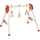 Heimess Babygym und Spieltrainer Maus rosa