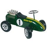 Goki Rutscherfarzeug Rennwagen grün