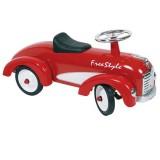 Goki Rutscher Fahrzeug Oldtimer rot