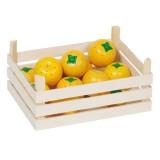 Goki Orangen in Obstkiste