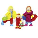Goki Wyginające się lalki — Rodzina urlopowiczów