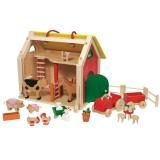 Goki Koffer Farmhaus
