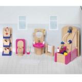 Goki Puppenhausmöbel Badezimmer Design
