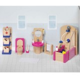 Goki poppenhuismeubeltjes badkamer design