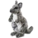Heunec Stofftier Känguru mit Baby Classics