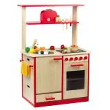 Sun Kinderküche natur-rot