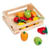 Janod frutta di legno 12 pz.