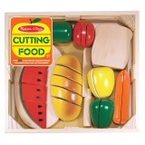 Melissa & Doug 10487 Wooden cutting food