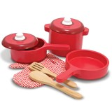 Melissa & Doug 12610 Wooden kitchen accessory set