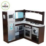 KidKraft Espresso Grand Gourmet Kitchen  53302