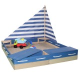 Sun Sandkasten Seefahrer, blau-natur