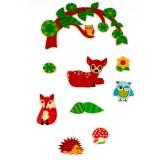 Hess decorazione animali della foresta