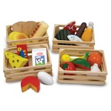 Melissa & Doug Food Groups - Wooden Play Food 10271