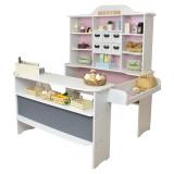 Roba Kaufladen Macaron rosa-weiss
