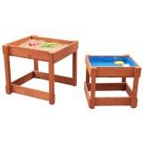 SUN Spieltisch-Set Sand & Wasser, Braun